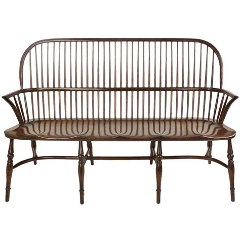 windsor benches english oak windsor bench at 1stdibs