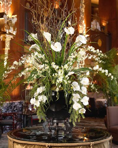 large floral centerpieces gorgeous grand impression silk flower arrangement at