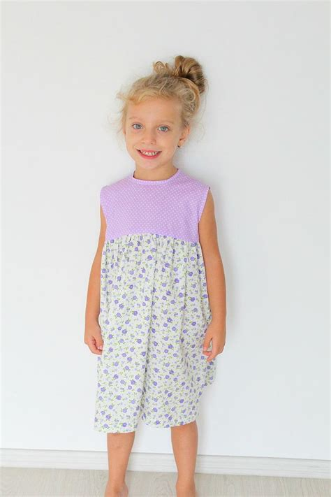 simple pattern for little girl dress easy girls gathered dress pattern allfreesewing com