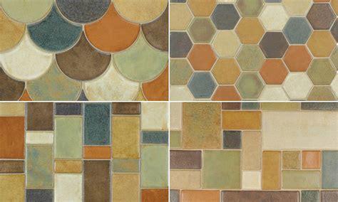 Handcrafted Ceramic Tiles - handcrafted ceramic tiles by syzygy rubble tile