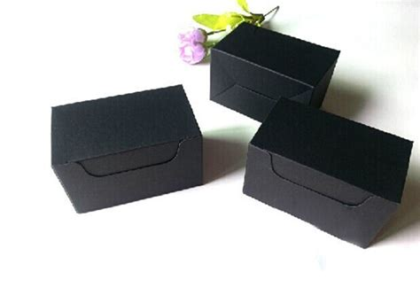 Hult Mba Black Box Package Admission by 10 6 6cm Dhl Free Shipping Black Kraft Paper Box Gift