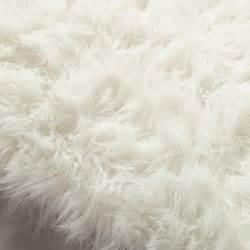 kunstfell teppich tapis en fausse fourrure blanche 140 x 200 cm oumka