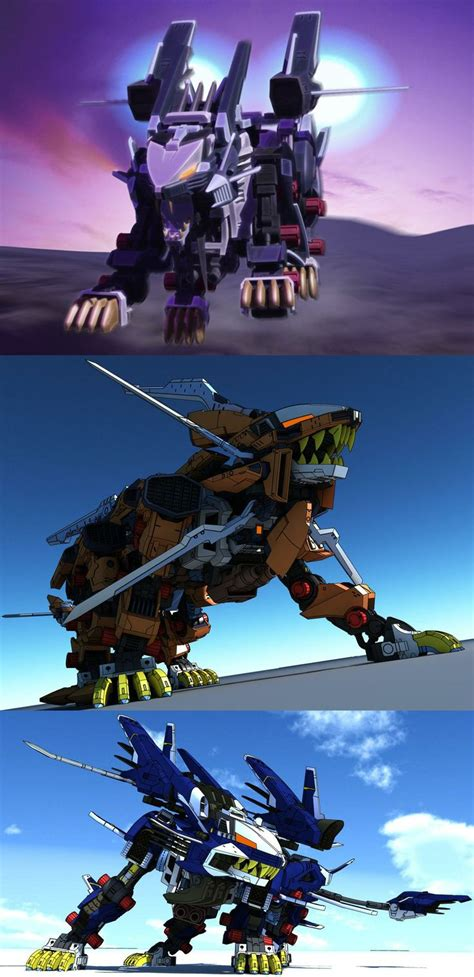 Kaos Anime Liger Zero 38 best zoids images on highlights robots and figures