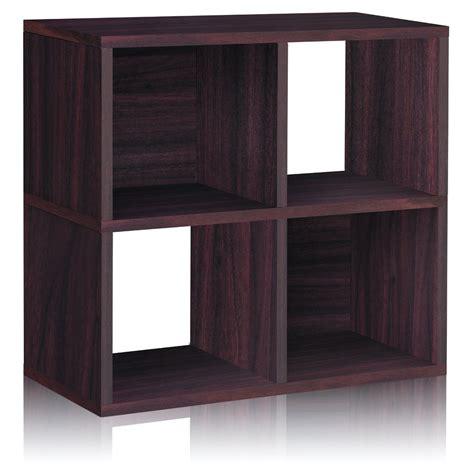 25 Inch Bookcase Way Basics Zboard Storage 25 Quot Cube Unit Bookcase