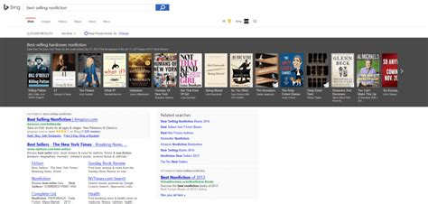 seller list bing images bing s new best sellers carousel helps readers find just