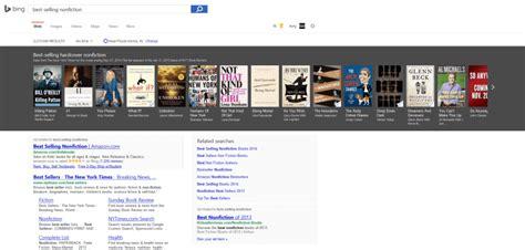 seller list bing images bing s new best sellers carousel helps readers find just