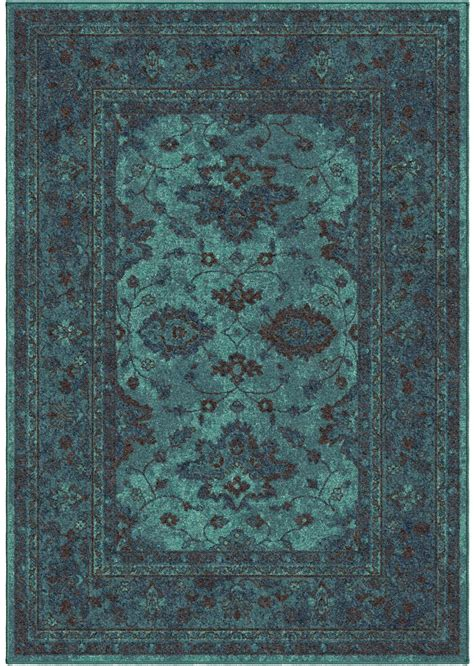 small accent rugs orian rugs bright color modern traditional ethnicagra blue