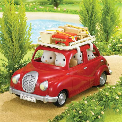 Sylvanian Families Auto by Sylvanian Families Roof Rack And Picnic Set Toys R Us