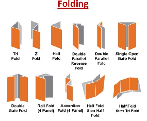 How To Fold A Paper Into A Brochure - how to fold a paper like a brochure 28 images