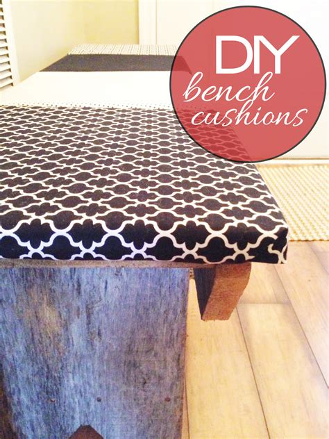 diy bench with cushion diy bench cushions t h e r e f u r b i s h e d l i f e