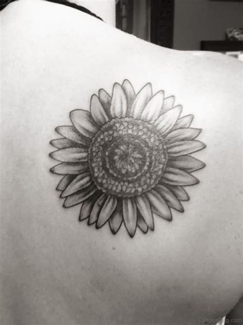 black and white sunflower tattoo designs 85 pretty sunflower tattoos designs for back