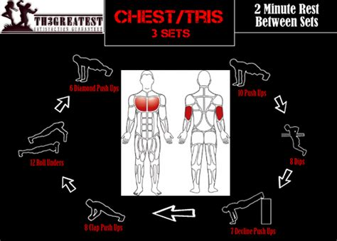 greatest fitness exercise train bands and watches 2014 fitness workout and bodybuilding chest and tricep workout
