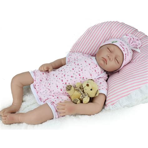 Sale Baby Doll Dewasa 1 22inch soft silicone reborn baby born doll that look real for sale lifelike vinyl sleeping