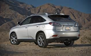 2010 lexus rx 350 awd rear three quarters photo 10