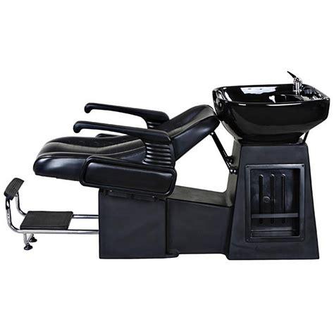 quot harlow quot black salon shoo chair sink bowl unit