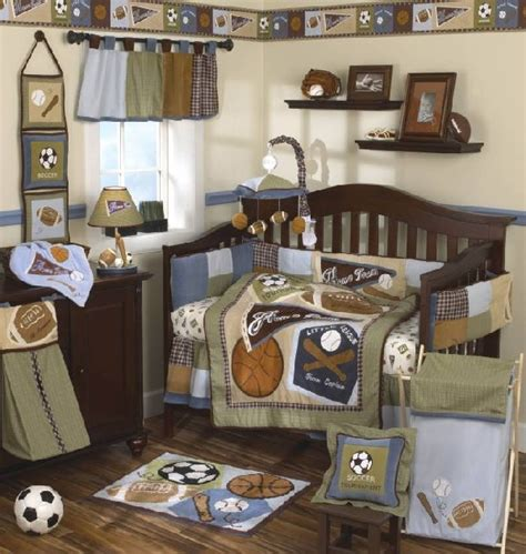 Boys Sports Crib Bedding 30 Colorful And Contemporary Baby Bedding Ideas For Boys