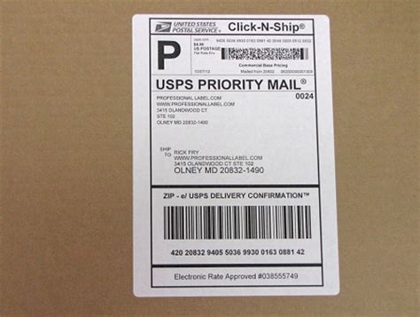 shipping address label template click n ship shipping mailing address labels with receipt