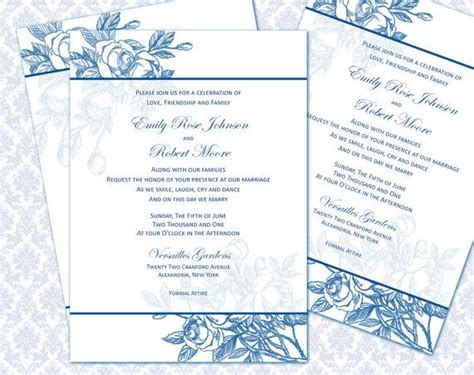 5x7 Wedding Invitations by Wedding Invitation Wording 5x7 Wedding Invitation Template