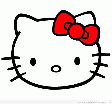 como hacer la cabeza de hello kity para disfraz hello kitty archivos manualidades con foamy