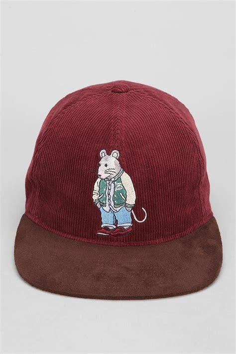 Topi Snapback Stussy 8 stussy rat corduroy snapback hat clothes snapback hats hats and rats