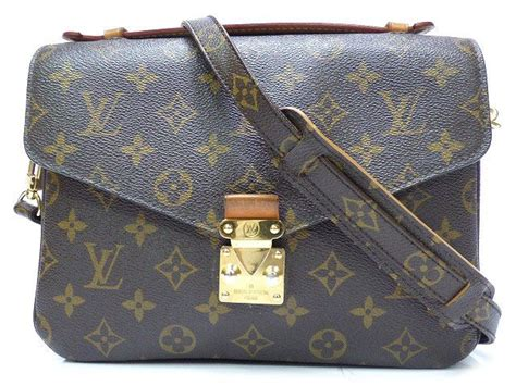 authentic louis vuitton monogram pochette metis