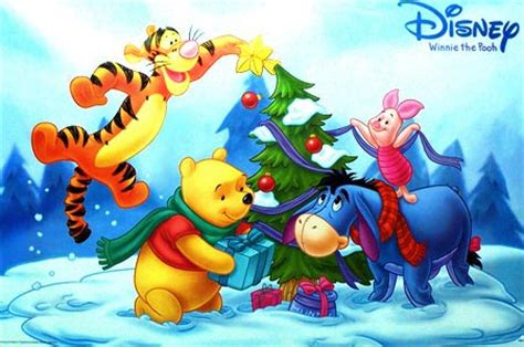 winnie  pooh christmas wallpaper desktop gallery