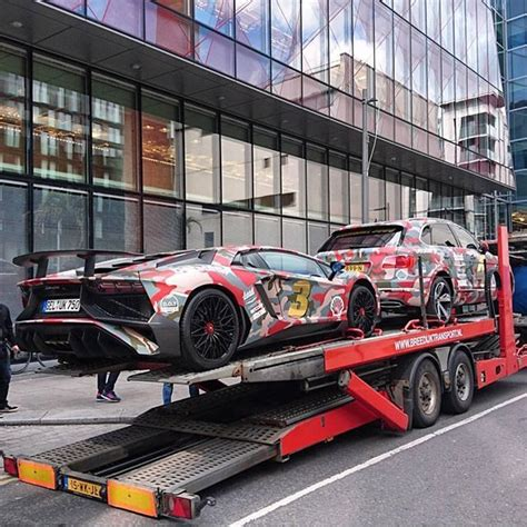 gumball 3000 lamborghini in with afrojack s pair for gumball3000 photo by