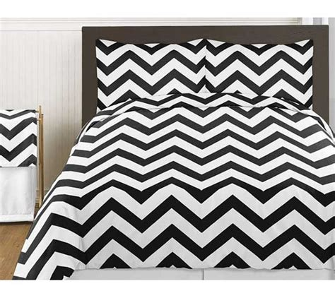 Chevron Bedding Set King Black White Chevron Print Bedding Set 3 King Size Blanket Warehouse