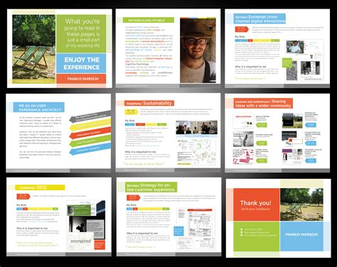 layout pptx powerpoint presentation design social media style