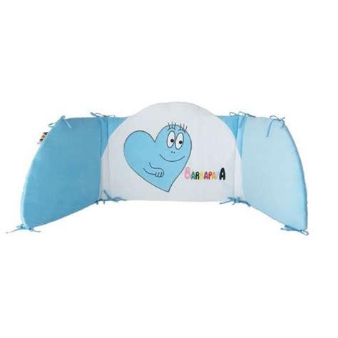 chambre barbapapa barbapapa tour de lit 40 x 180 cm bleu gar 231 on bleu et
