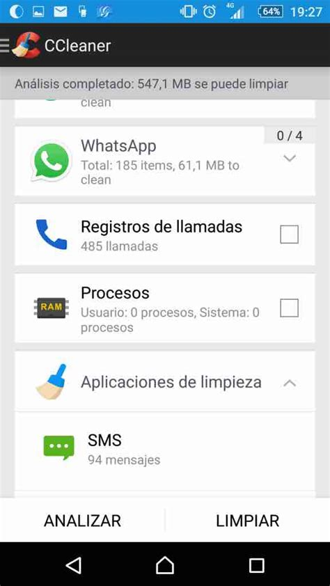 ccleaner android ccleaner para android la forma m 225 s eficaz de limpiar tu