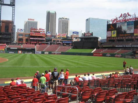 section 140 busch stadium busch stadium section 140 rateyourseats com