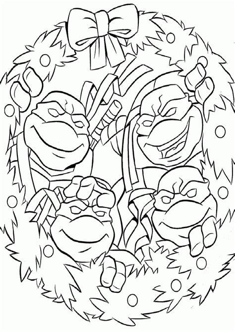 ninja turtles april coloring page christmas ninja turtles coloring pages az coloring pages