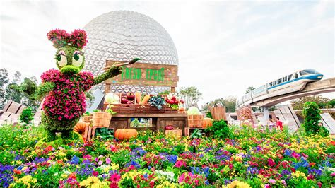 2018 epcot flower and garden festival brb going to disney