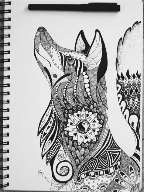 Mandala Animal Tattoo Tumblr | mandala yin yang tumblr