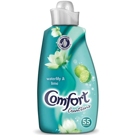 comfort creations comfort creations waterlily lime 1 9l fabric conditioner
