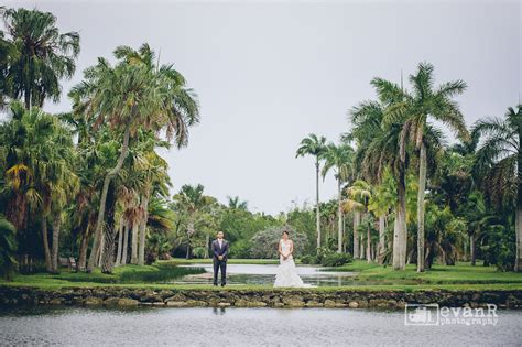 Coral Gables Botanical Gardens Shirlin Allen Wedding Photography At Fairchild Tropical