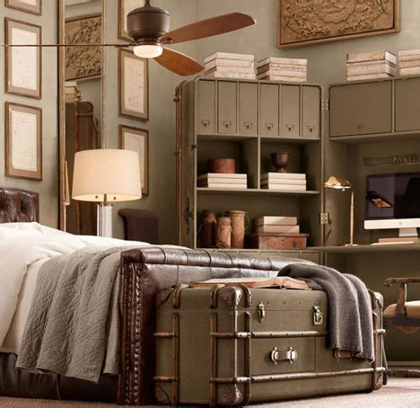 Vintage Inspired Bedroom Furniture Retro Recycled Furniture Inspired By Steamer Trunks