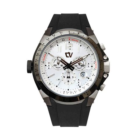 Verra Cv 21611l 31 Blk jual verra collection chronograph rubber mens