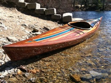 Handmade Wooden Kayak - beautiful handmade wooden kayak kayaks