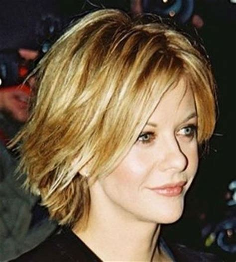 choppy lots of layers short hairstyles short choppy hairstyles meg ryan choppy cut short