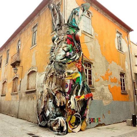 street art  bordalo ii  porto portugalr guilherme