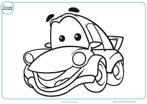 imagenes a blanco y negro de niños dibujos de coches para colorear mundo primaria