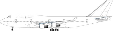layout side view side view boeing 747 pinterest boeing 747 and aircraft