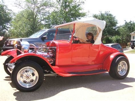 ford model  roadster hot rod convertible real