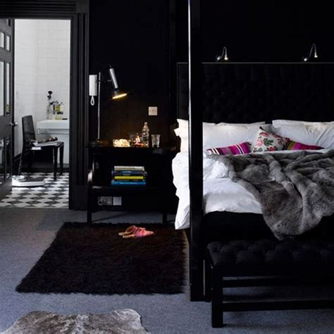 Midnight Room by Dipped In Midnight Monochromatic Rooms