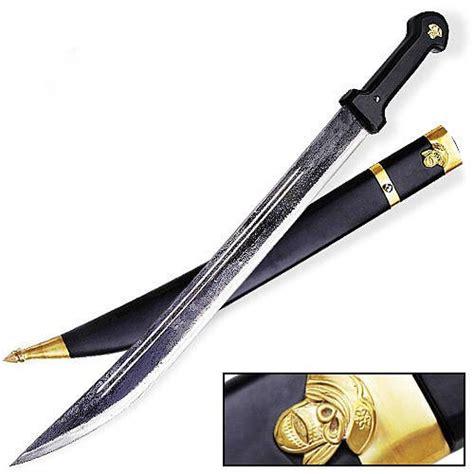 black sword russian kindjal all black sword with sheath 31 1 2