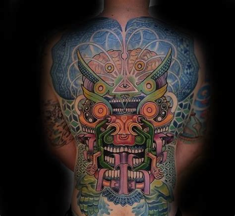 trippy tattoo designs 60 trippy tattoos for psychedelic design ideas