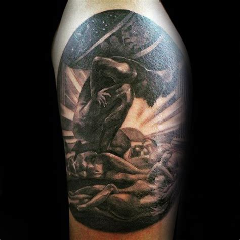 70 atlas tattoo designs for men manly greek ink ideas