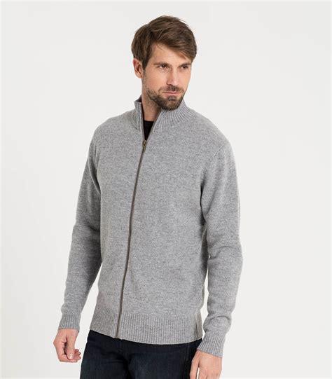 Zipper Sweater Jaket 1 flannel lambswool mens lambswool lincoln zipper cardigan